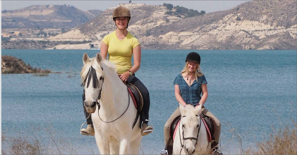 Horse and Pony Riding at Lake Pedrera Torrevieja